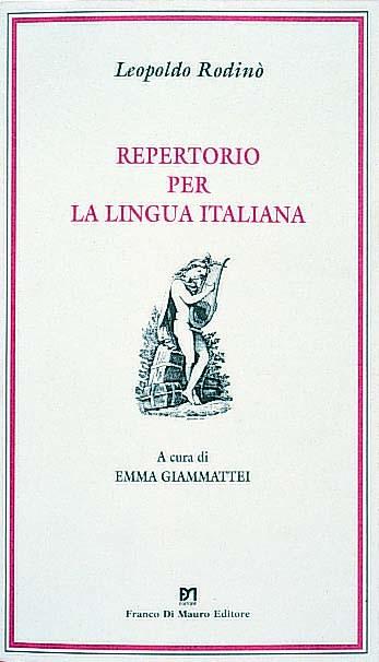 Repertorio per la lingua italiana