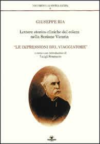 Lettere storico cliniche del colera nella sezione vicaria