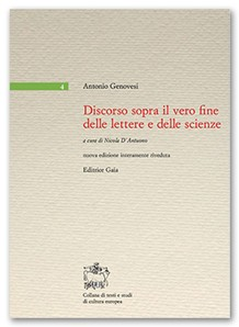 Discorso sopra il vero fine delle lettere e delle scienze