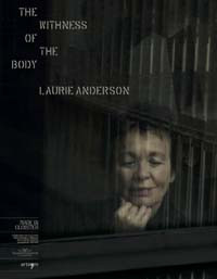 the withness of the body. laurie anderson
