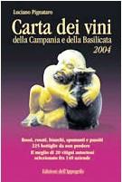 La Carta dei Vini 2004 della Campania e della Basilicata