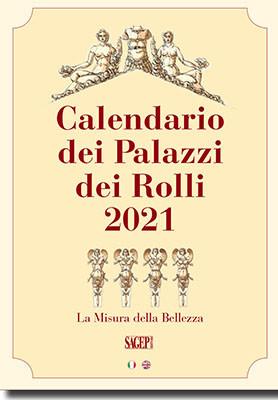 Calendario dei Palazzi dei Rolli 2021.